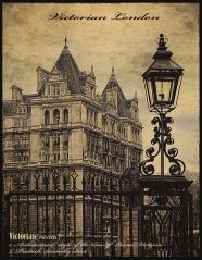 Victorian London lamp